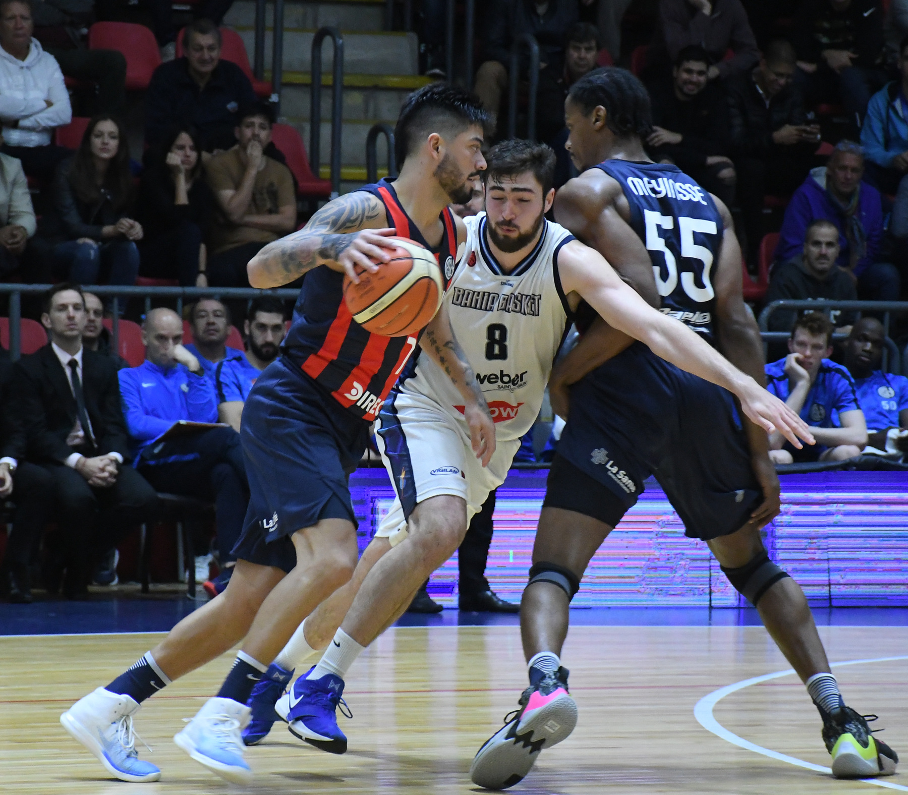 Resultado de imagen para san lorenzo 110 bahia basket 76